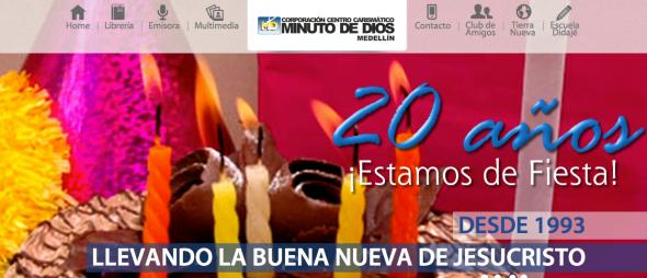 Emisora Minuto de Dios Medellín 20 años